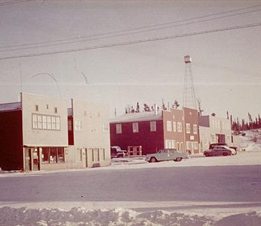 Elm Street in the 1950's