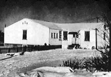 Snow Lake hospital in the 1960's